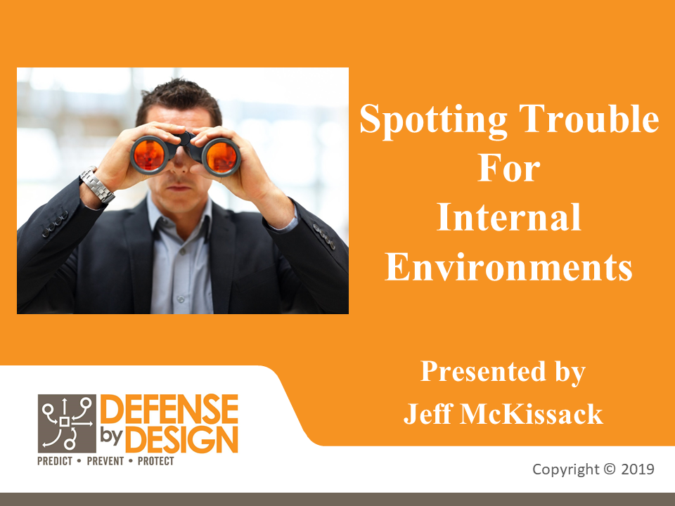 Defense By Design – Internal Employees