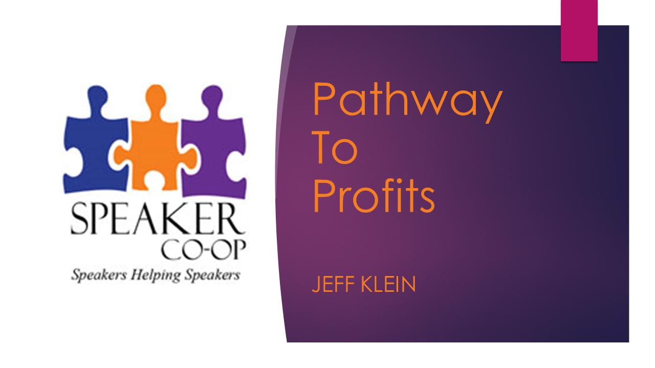 Pathway to Profits